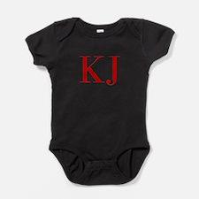 KJ-bod red2 Baby Bodysuit