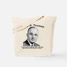 Truman: Hell Tote Bag