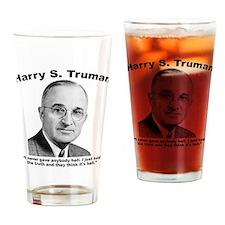 Truman: Hell Drinking Glass