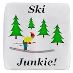 Ski Junkie Cube Ottoman