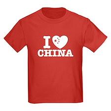 I Love China T
