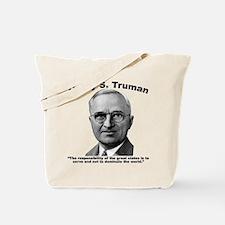 Truman: States Tote Bag