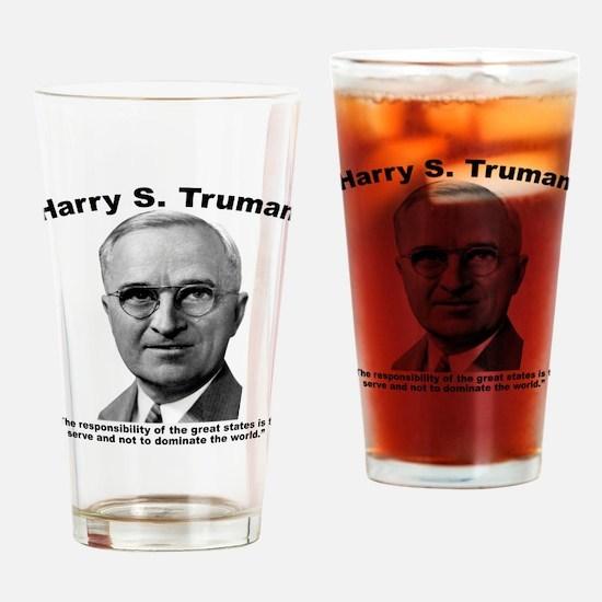 Truman: States Drinking Glass