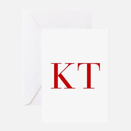 KT-bod red2 Greeting Cards