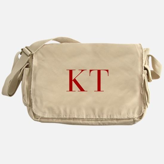 KT-bod red2 Messenger Bag