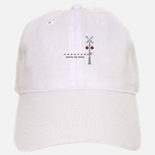 Stayin' On Track Baseball Baseball Baseball Cap