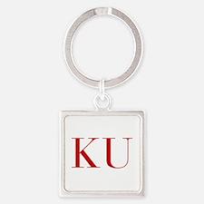 KU-bod red2 Keychains
