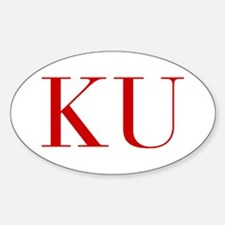 KU-bod red2 Decal