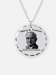 Truman: Dictator Necklace