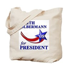 Keith Olbermann for President Tote Bag