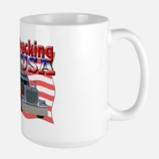 Trucking USA Large Mug