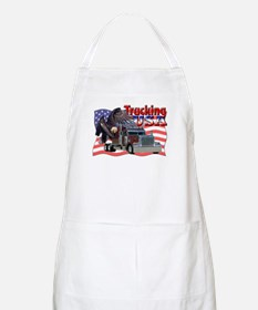Trucking USA BBQ Apron