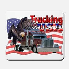 Trucking USA Mousepad