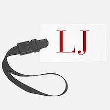 LJ-bod red2 Luggage Tag
