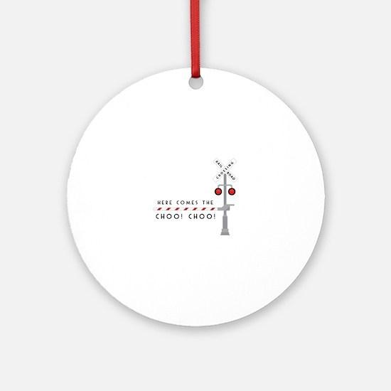 Here Comes Ornament (Round)