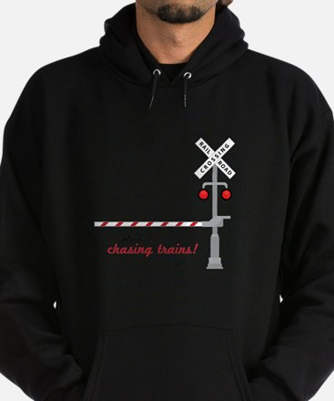 Chasing Trains! Hoody