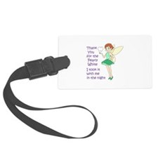 PEARLY WHITE Luggage Tag