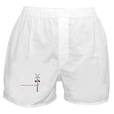 Railroad Crossing Boxer Shorts