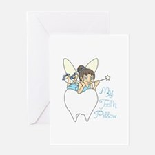 MY TOOTH PILLOW Greeting Cards