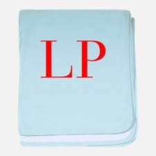 LP-bod red2 baby blanket