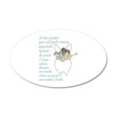 TOOTH FAIRY POEM Wall Decal