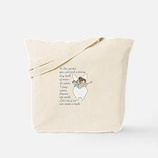 TOOTH FAIRY POEM Tote Bag