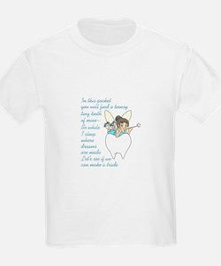 TOOTH FAIRY POEM T-Shirt