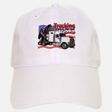 Trucking USA Baseball Baseball Cap