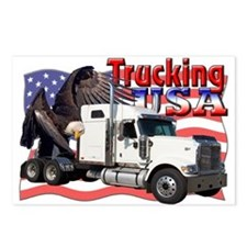 Trucking USA Postcards (Package of 8)