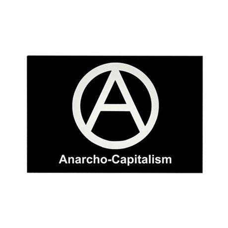 Anarcho Capitalism Rectangle Magnet (10 pack)