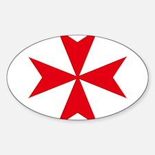 maltese cross Decal
