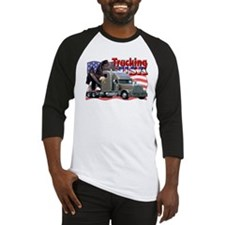 Trucking USA Baseball Jersey