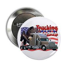 Trucking USA Button