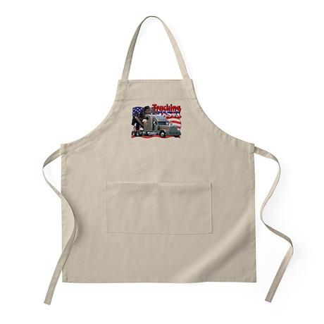 Trucking USA BBQ Apron
