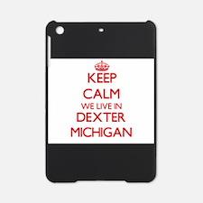 Keep calm we live in Dexter Michiga iPad Mini Case