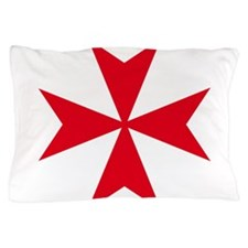 maltese cross Pillow Case