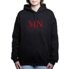MN-bod red2 Women's Hooded Sweatshirt