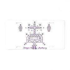 Baron Samedi Aluminum License Plate