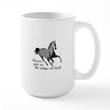 RUNNING HORSE Mugs