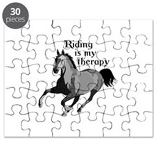 RIDING IS MY THERAPY Puzzle