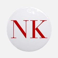 NK-bod red2 Ornament (Round)