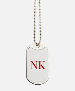 NK-bod red2 Dog Tags