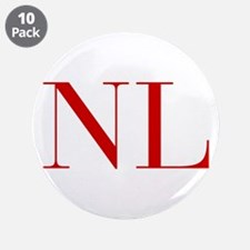 """NL-bod red2 3.5"""" Button (10 pack)"""