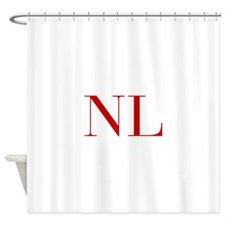 NL-bod red2 Shower Curtain