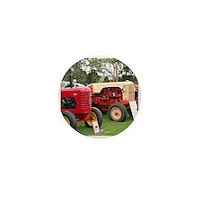 Old farm tractors machinery 2 Mini Button
