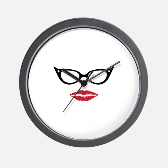 Gorgeous Lady Wall Clock