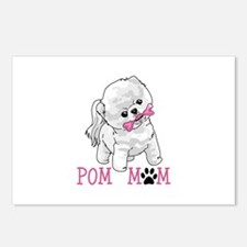 POM MOM Postcards (Package of 8)