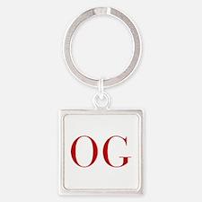 OG-bod red2 Keychains