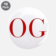 """OG-bod red2 3.5"""" Button (10 pack)"""
