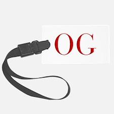 OG-bod red2 Luggage Tag
